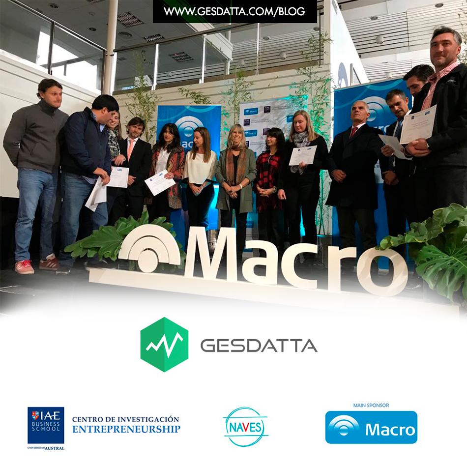 GesDatta premiada en programa de emprendedores