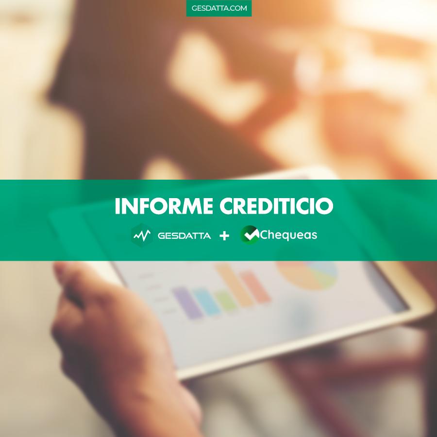 GesDatta + Chequeas = Informe crediticio en 5 segundos.